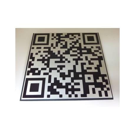 Naambord, Naamplaat met eigen QR code