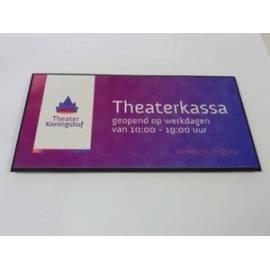 Naambord bedrijf Theater