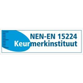 Logo naambordje 20 x 15 cm NEN keurmerk