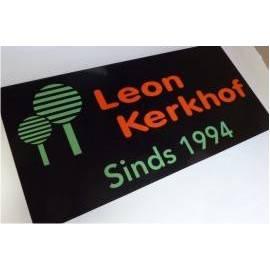 Bedrijfsnaambord logo leonkerkhof