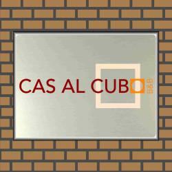 Bedrijfsnaambordje logo cas al cub