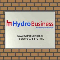 Naambord bedrijf eigen logo Hydro