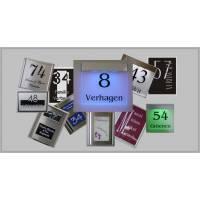 Naamborden en Naamplaten RVS